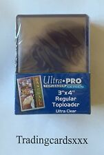 ♦MTG/Pokémon/Yu-Gi-Oh!♦ 25 Protèges Cartes rigide Ultra PRO Regular Toploader