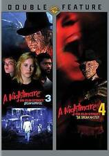 A Nightmare on Elm Street 3&4 (DVD)(DBFE), New DVD, Various, Various
