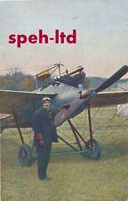 Originale  Karte /   Flugzeug, ..Flieger Hirth mit Rumpler Eindecker