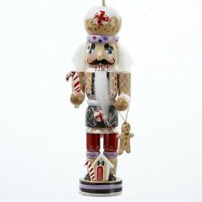Gingerbread Man Nutcracker Wooden Christmas Ornament Decoration