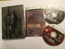 XBOX 360 GAME GEARS OF WAR 2 / II LIMITED STEELBOOK EDITION PAL