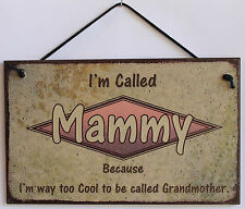 Mammy s Sign Retro Grandma Mom Vintage Best Cool Mother Day #1 Parent Gift Decor