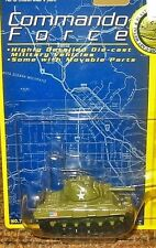 Motormax Commando Force Dyna-Mights Die Cast US Army Sherman Tank 76188