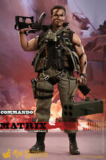 "John Matrix Phantom Commando Arnold Schwarzenegger 12"" Figur MMS276 Hot Toys"