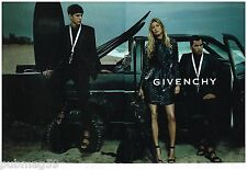 Publicité Advertising 2012 (2 pages) Haute couture Givenchy avec Gisele Bundchen
