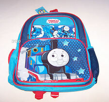 Thomas The Tank Boys Blue Red Large Printed Backpack New