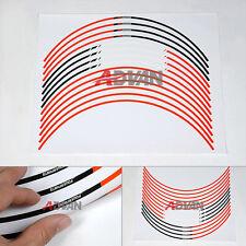 """17"""" Wheel Sticker Rim Decals Strips Fit For KTM  Powersport Duke 125 200 390"""