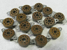 Cinch? Eby? Elco? 14 each USA made OCTAL tube sockets - 5692, EL34, KT88, 6550