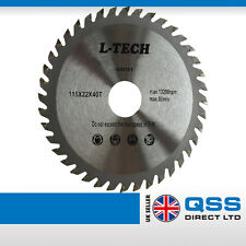 Angle Grinder Saw Blades for Wood Cutting Circular saw blade 115x 22,2x 40T
