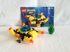 Lego Aquazone - 6145/1728 Crystal Crawler and 6125 Sea Sprint 9 Aquanut Octopod