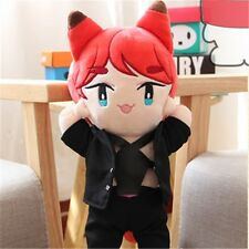KPOP Shinee KimKibum Fox KEY Plush Toy Stuffed Doll Fanmade Collection Free Ship