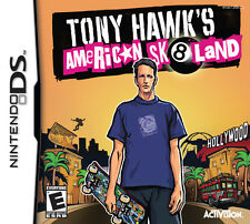 TONY HAWK'S AMERICAN SK8LAND KIDS GAME CARD DS DS DS LITE 3DS 2DS DSI 3DS XL