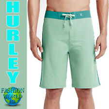 "HURLEY MEN'S SIZE 30 PHANTOM JJF II SOLID 21"" BOARDSHORTS  MBS0004720 GREEN"