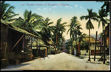 PHILIPPINES - RESIDENT SECTION OF OLONGAPO - POSTCARD - J68