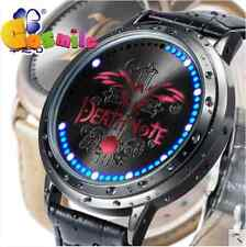 DEATH NOTE L Watch LED Touch-Screen Waterproof Watch Christmas New Year Cos Gift