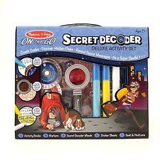 Decodificador Secreto Super Sleuth grieta códigos Melissa y Doug edad 7+