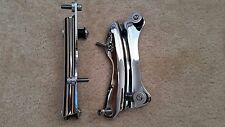 Chrome 4 Point Docking Hardware Kit for Harley Road King Street Glide 2014-2016