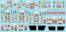 F1 DECALS MUSEUM COLLECTION D688 1/43 FERRARI DRIVER LOGO MINICHAMPS 1975 ~ 1998