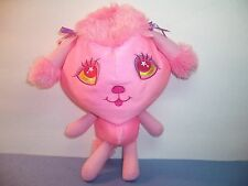 HUGFUN  HUG FUN  PLUSH PUPPY DOG -  PINK POODLE - MICROBEAD PILLOW TOY - VGC