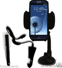 S3 CAR HOLDER & CHARGER PEN SAMSUNG NAVY BLUE PEARL GALAXY S2/S3/S4/S5 I9300