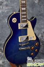 New Epiphone Les Paul Standard Electric Guitar with Case - Transparent Lavender
