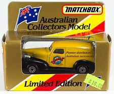 Matchbox Australian Gowings 1939 Chevy 1:64 New In Box Limited Edition 1993