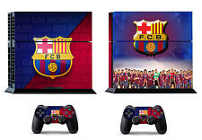 Barcelona Football 371 Skin Sticker Sony PS4 PlayStation 4 and 2 controller skin