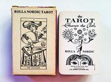 Rolla Nordic Tarot Deck 1981 US Games Systems 78 Cards / Instructions, Very Rare