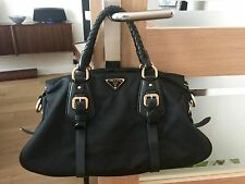 PRADA BLACK HANDBAG PURCHASED FROM HARRODS