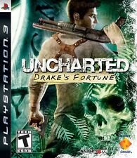 Uncharted: Drake's Fortune (Sony PlayStation 3, PS3 2007) Free Shipping