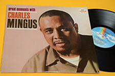 CHARLES MINGUS 2LP GREATE MOMENTS USA PRESS 1981 EX+ TOP AUDIOFILI JAZZ