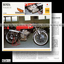 #048.01 HONDA 50 TWIN RC 116 1966 (RC166) Fiche Moto Racing Motorcycle Card