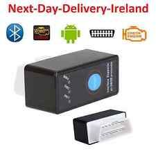 Mini Bluetooth ELM327 OBD2 II Auto Diagnostics Scanner Power Switch For Android