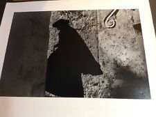 Photograph By Ernst Haas Positano Priest 1953 Oversize 16x20 Stamped Verso