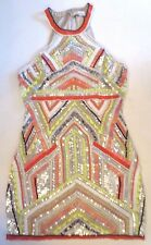 ***NWT $396 PARKER FULLY EMBELLISHED BEADED DRESS IN MULTI-COLOR SIZE X-SMALL XS