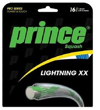 PRINCE Lightning XX Squash stringa 10m Set 16 / 1.30 mm-Blu