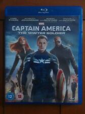Marvel Captain America 2: Winter Soldier (Blu-Ray; Region Free; Chris Evans)
