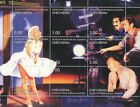 HOLLYWOOD LEGENDS MARILYN MONROE ALFRED HITCHCOCK GROUCHO MARX MNH STAMP SHEET