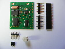 DTMF (SMT) Decoder Module, 6 outputs and morse transpond. Assembled and tested.