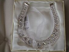 Wedding Diamante Lucky Horseshoe. Perfect Gift / Decoration