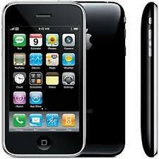 BLACK APPLE IPHONE 3GS 16G-Sbloccato, manomettere, grande app, Nuove CGR & Garanzia