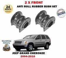 PER JEEP GRAND CHEROKEE WH 2004-2010 2 X BARRA ANTIROLLIO ANT GOMMA BOCCOLA SET