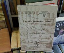 I LIBRI EBRAICI DELLA BIBLIOTECA ANGELICA, I, INCUNABOLI E CINQUECENTINE - LIB