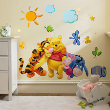 DISNEY WINNIE THE POOH AND FRIENDS WALL STICKER DECAL NURSERY/KIDS ROOM