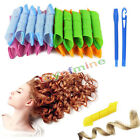 18PCS/Set DIY Magic Leverag Hair Curlers Tool Styling Rollers Spiral Circle New