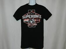 Men's Graphic Tee OCTANE Black/Red World Superbike AMA T-Shirt