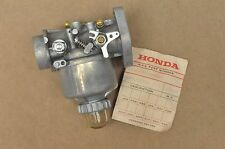NOS New Honda F28 A Roto Tiller Carburetor Assembly 16100-844-014