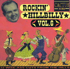 ROCKIN' HILLBILLY volume 6 CD Rockabilly Western Swing 1940s 1950s NEW