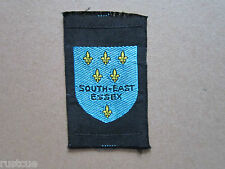 South East Essex Woven Cloth Patch Badge Boy Scouts Scouting