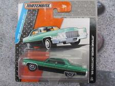 Matchbox 2015 #012/120 1969 CADILLAC SEDAN DEVILLE grn MBX Adventure City Case C